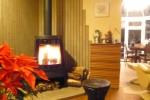 室内の隅々、そして心を温める暖炉