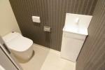 シックで大人なトイレ空間です。